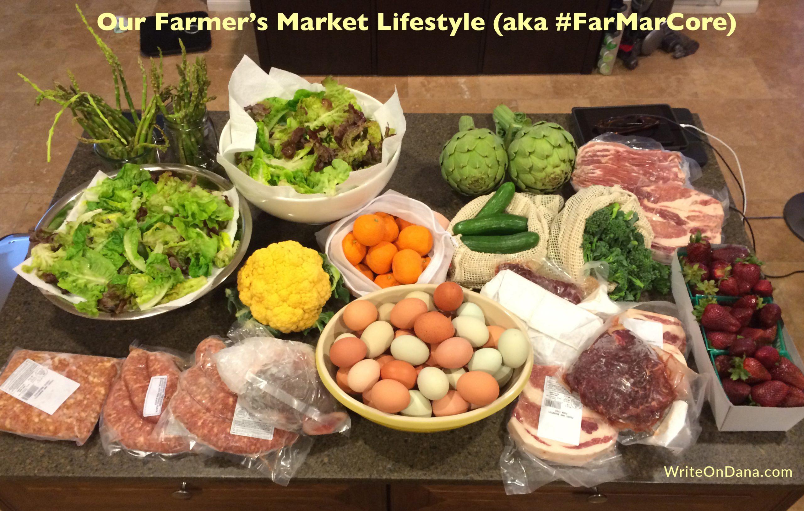 local, organic, seasonal eating