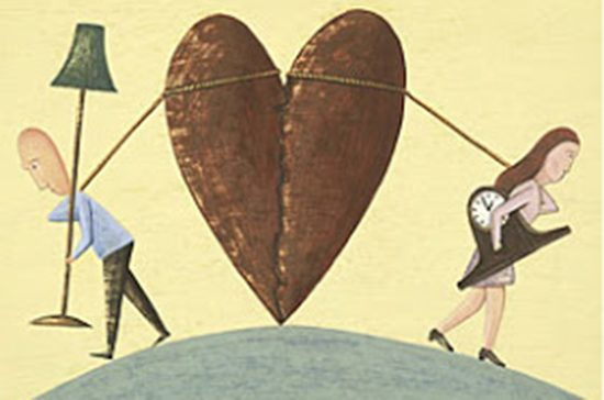 Divorce, and collateral damage.