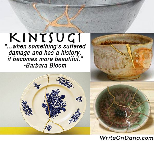 Kintsugi as a personal philosophy