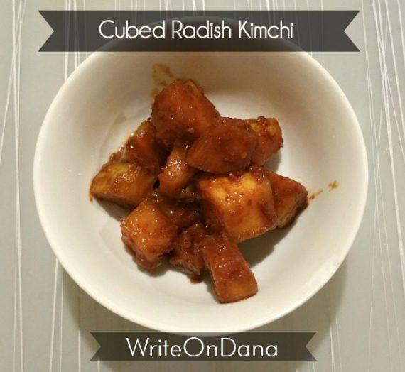 Korean Wife Camp: Kkakdugi – Cubed Radish Kimchi