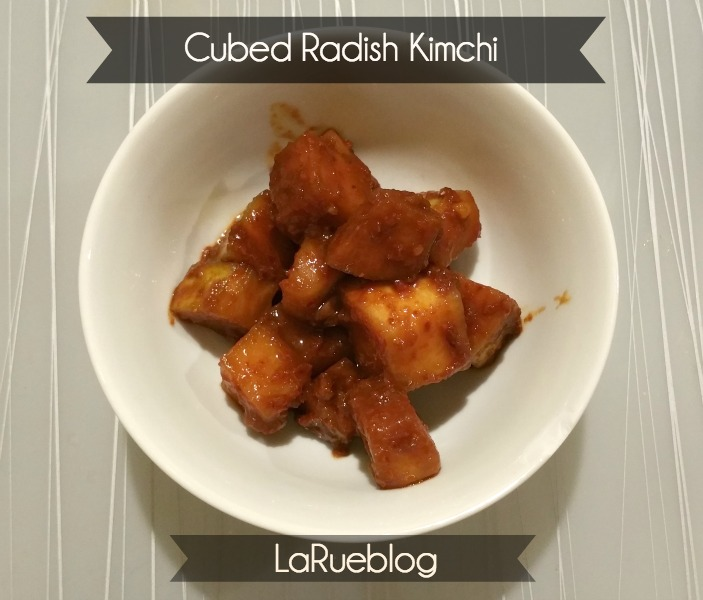 cubed radish kimchi kkakdugi