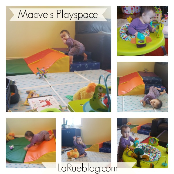 safe playspace for a wild child